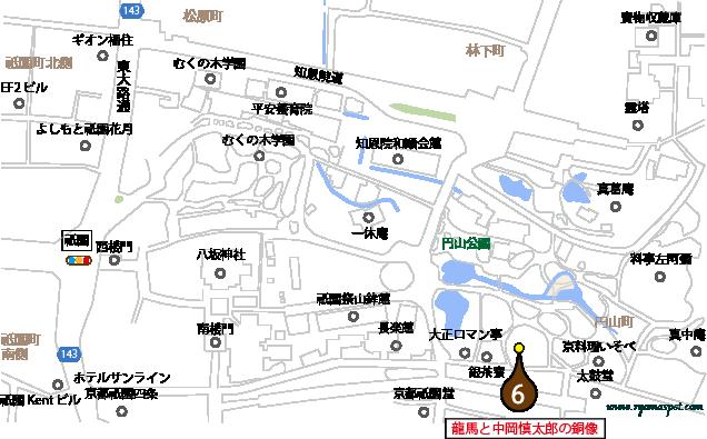東山区史跡マップマーク6