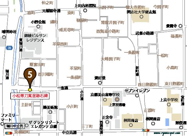 上京区史跡マップマーク5