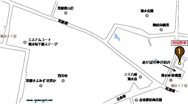 東山区史跡マップマーク1