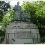 円山公園銅像