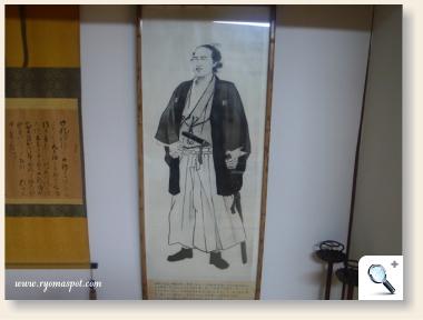 龍馬の肖像画