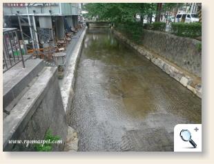 現在の高瀬川