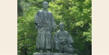坂本龍馬と中岡慎太郎銅像