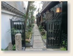下京区のエリアマップワンショット