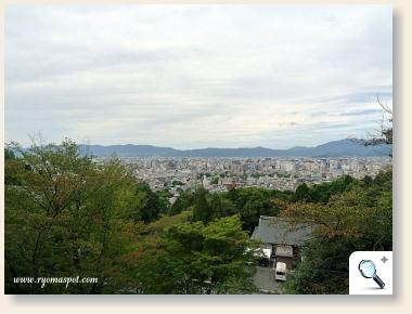 霊山護国神社からの景色