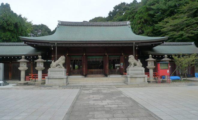 霊山護国神社境内