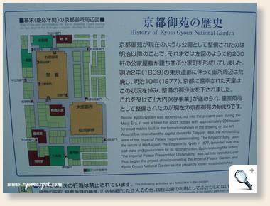京都御所周辺図