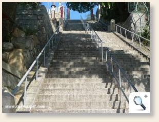 祇園神社階段