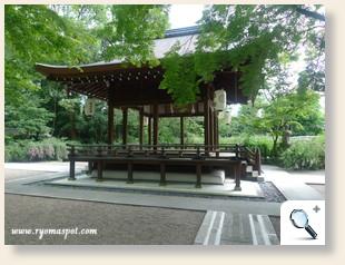 梨木神社能舞台