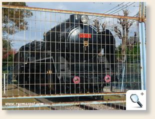 D51機関車