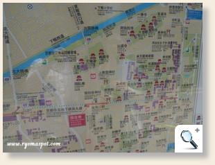 鞍馬口周辺地図