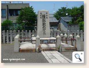 相国寺薩摩藩士墓