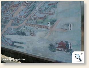 相国寺案内図